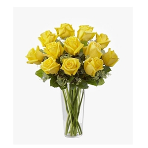 1 Dozen Yellow Roses